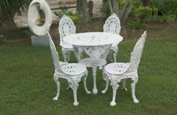 cast-aluminium-chair-set