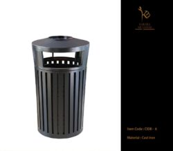 Cast Aluminium Dustbin